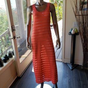 Miken Swim Swimsuit Cover Up Tank Dress